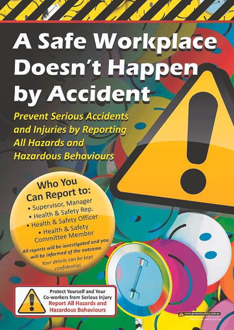 Accident Reporting #1 Safety Posters