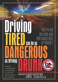Driving Tired Like Driving Drunk 4 Safet
