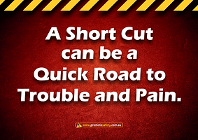 Short Cut Quick Road to Pain Safety Slog