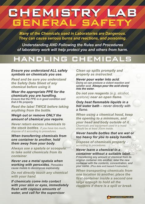 Chem Lab Safety Basics #3 Safety Posters