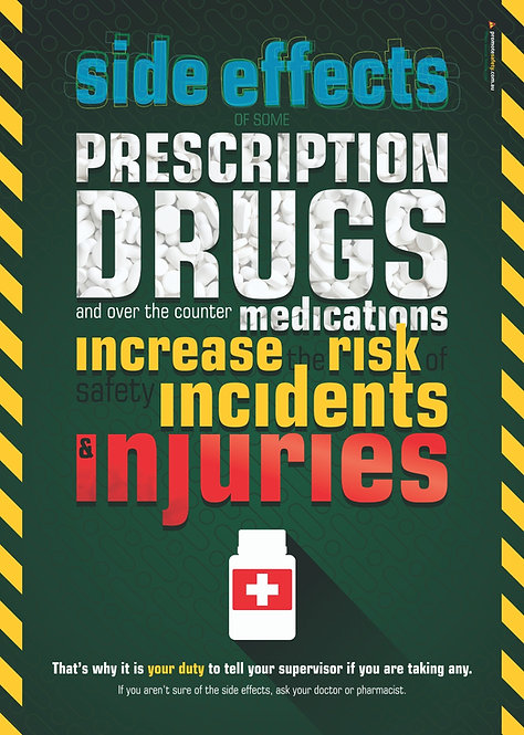 Prescription Drugs at Work Safety Posters
