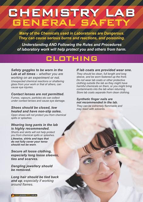 Chem Lab Safety Basics #5 Safety Posters