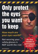 Only Protect the Eyes You Want to Keep Safety Posters 1B