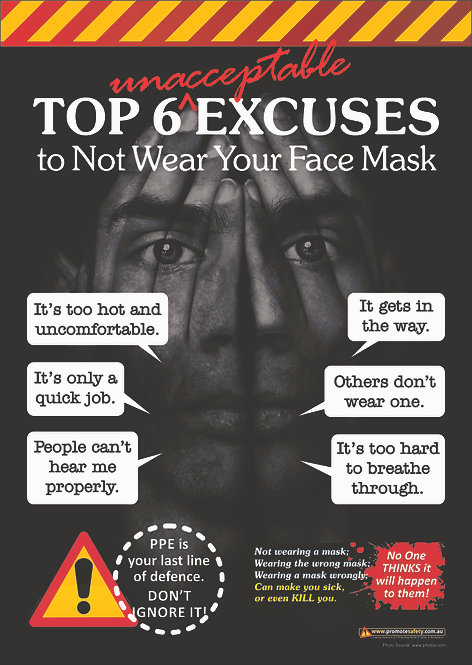 Face Mask Safety Posters