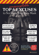 Face Masks Safety Posters