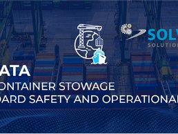 SVM SONATA Optimized container stowage key to onboard safety and operational efficiency