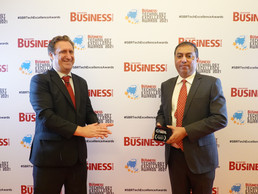 SVM Solutions and Technologies (Solverminds) wins Software Award for shipping at SBR TEA 2021 for MA