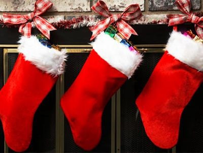 With what do we fill our Christmas stocking?