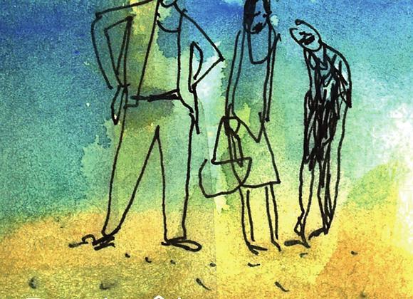 Gilbert Pinna, Peut-être des falaises (roman graphique)