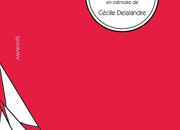 (Collectif), À dos de chat ailé, en mémoire de Cécile Delalandre