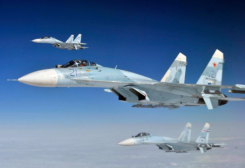 Sukhoi Su-27s