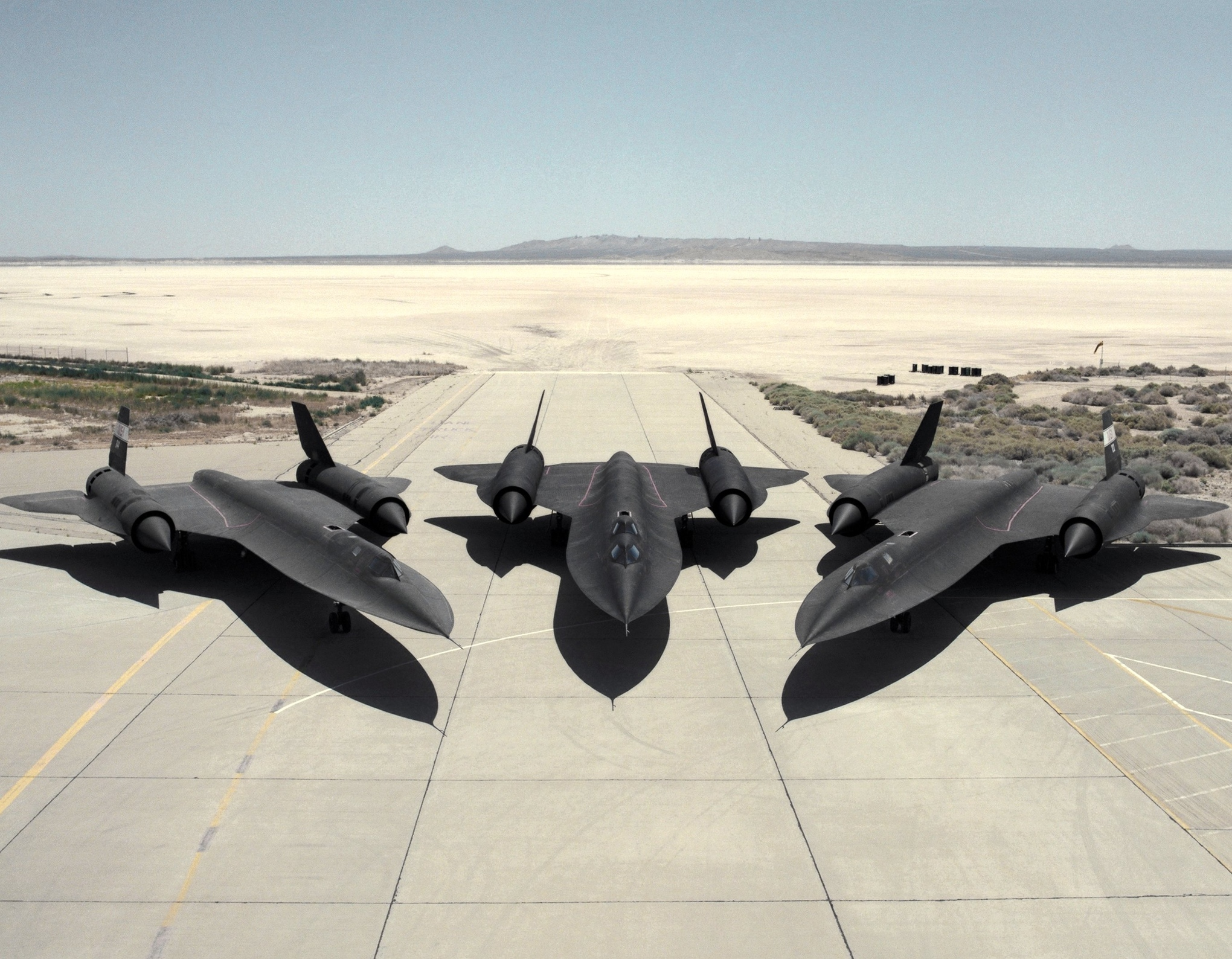 Lockheed SR-71 Blackbirds_2