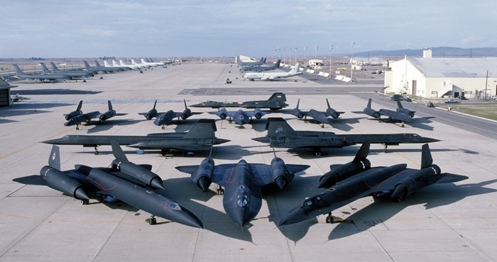 Lockheed SR-71 Blackbirds