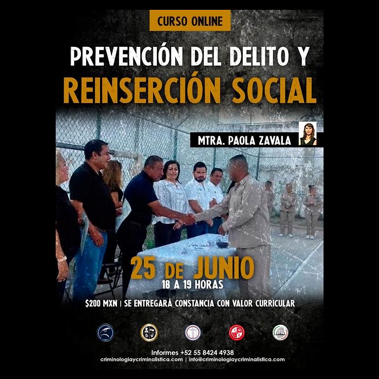 Prevención del Delito y Reinserción Social
