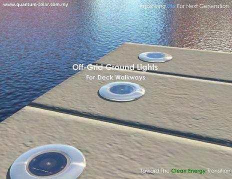 off grid ground lights