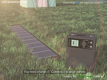 Zenmeco 5 connect to solar panels