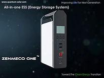 portable solar generator Zenmeco One