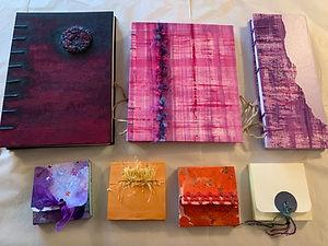 Pam's handmade books.jpg