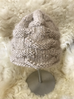 Tan Hat by Ruthanne