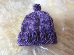 Purple Hat 1 by Pat Stone
