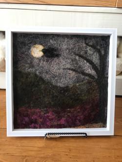 Blackbird Needlefelt
