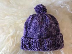 Purple Hat 2 by Pat Stone