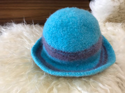Felted Hat by Darcy Cahill