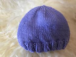 Periwinkle Hat by Carol P.