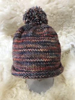 Striped Hat by Deb Robinson