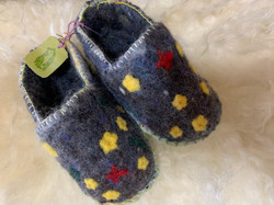 Felted Slippers by Annette H.