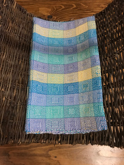 Squares Blanket 1 by Claire Milne