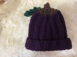 Grape Hat by Nancy MacDowell