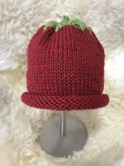 Strawberry Hat 1 by Carol P.