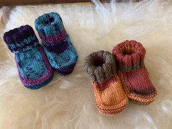Booties by Kathi R.