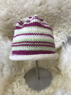 Striped Hat by Carol P.
