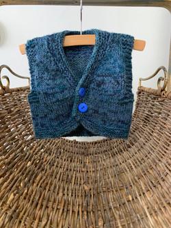 Blue Vest by Yvonne K.