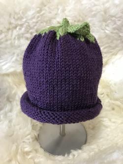 Grape Hat by Carol P.