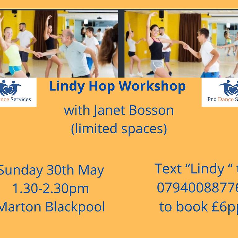 Lindy Hop Workshop