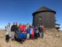 Tesla Medical team at Sněžka mountain