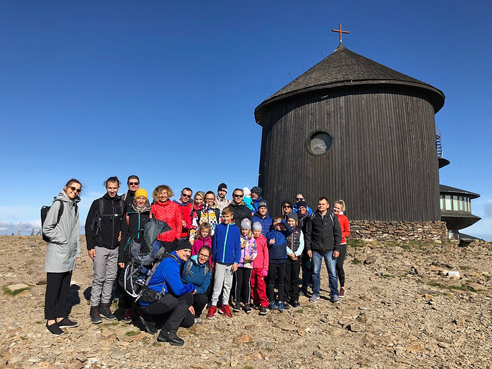 Tesla Medical team at Sněžka mountain