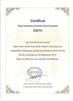 certificat Aulnay-sous-bois 2014