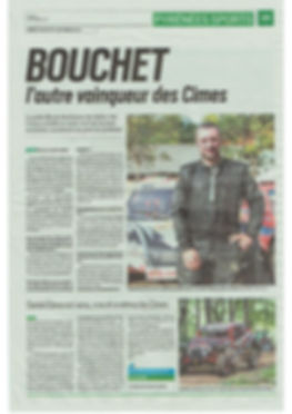 Article Pyrénées Sport