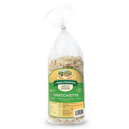 Orecchiette Durum Wheat Camerino - 500gr