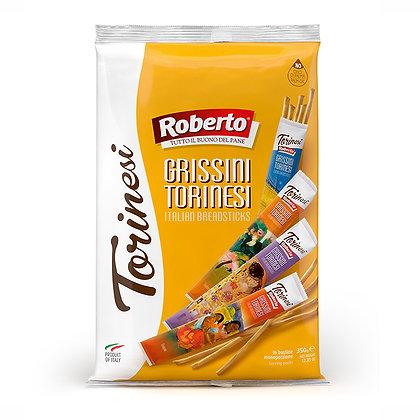 Grissini Torinesi (Bread Sticks) 350gr/bag - 23 packs in each bag