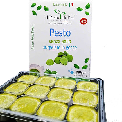 Traditional Pesto di Pra' (no garlic) Frozen- 180gr (12 cups each pack)