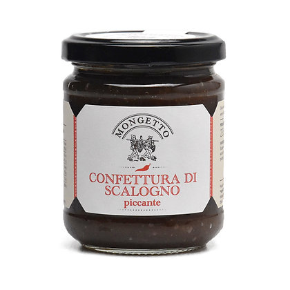 Spicy Italian Shallots Confiture Mongetto - 230gr