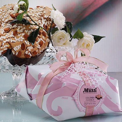 Colomba traditional Italian Easter sweet Muzzi - 750gr