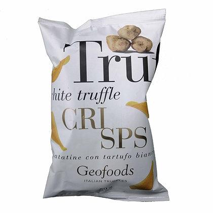 White Truffle Crisps Chips Geofoods - 50gr