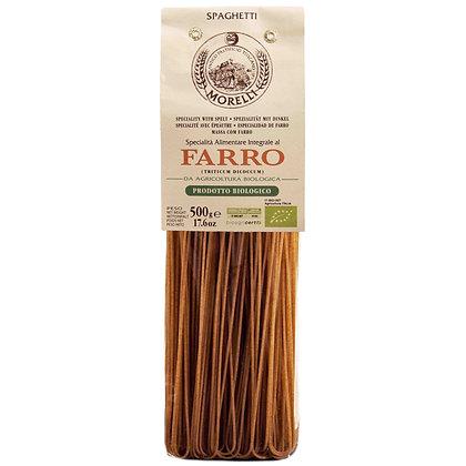 Spaghetti Integrali Farro BIO Whole Spelt Morelli - 500gr