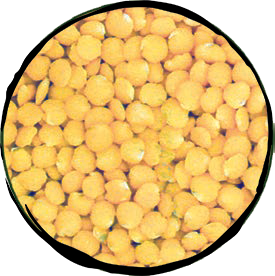 Yellow Peeled Lentils - 500gr